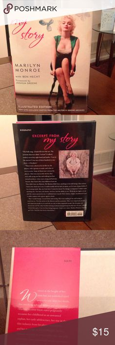 marilyn monroe my story book