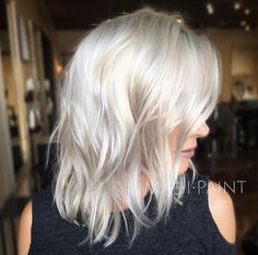 Shaggy cool tone blonde by Marissa Mae Neel