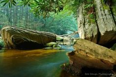 Dawn on Otter Creek in West Virginia by Bob Stough Photography ...