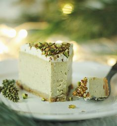Pistachio Cheesecake, Cinnamon Cheesecake, Best Cheesecake, Cheesecake Recipes, Dessert Recipes, Chocolate Muffins, Chocolate Desserts, Vegan Sweets, Vegan Desserts