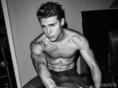 'Glee' Star Nolan Funk Strips For Sexy Versace Campaign - December 2013 - The Gaily Grind Awkward Show, Nolan Gerard Funk, Body Transformation Men, Scott Foley, Actors Male, Tim Mcgraw, Dream Boy, Shirtless Men, Attractive People