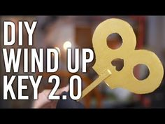 How to Make a Working Wind-up Key Updated Version! : DIY