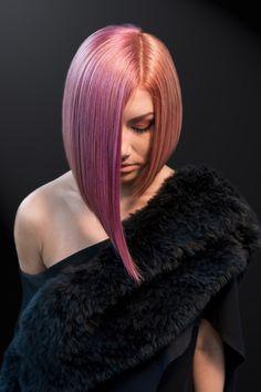 Inspiring Pastel Hair Color Ideas – My hair and beauty Girls Short Haircuts, New Haircuts, Bob Hairstyles, Modern Haircuts, Medium Hair Styles, Curly Hair Styles, Medium Layered Hair, Langer Bob, Corte Y Color