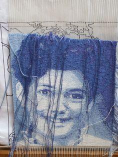 Emma Jo Webster as it was woven