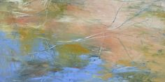 Water and Sand, 24 x 48, oil on canvas, 2011