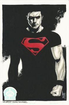 Superboy by Huebert Khan Michael