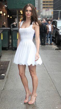 Emily Didonato #streetstyle #fashion #modeloffduty