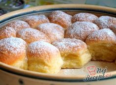 Yeast dough buns with quark filling - Kochen, Backen, Trinken - Nutella Lemon Macaroons, Desserts Nutella, Easy Cake Decorating, Different Cakes, Pampered Chef, Cakes And More, Cupcake Recipes, Bakery, Good Food