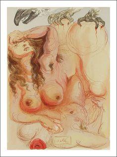 Salvador Dalí - Divina Commedia, Purgatorio 5