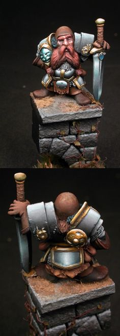 Enigma Models - Thorvin - Painted by Zach Lanier