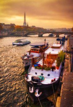 River Seine, Paris France