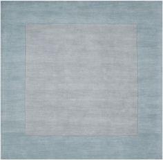 Surya M305 Mystique Blue Square Area Rug