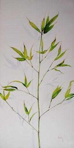 Les bambous... #Art #Artiste