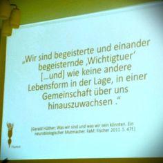 """Schönes Zitat in Vortrag """"Fantastic statt Plastic"""" von Tina Schepper-Bonnet / fix&freitags im Combinat56"""