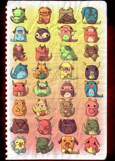 Image result for cute monsters