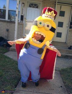 King Bob Minion DIY Halloween Costume