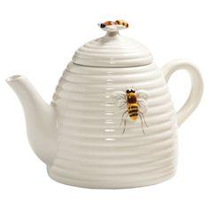 Bee Hive Tea Pot - { summertime cottage }