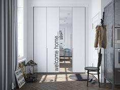 Scandinavian Apartment Jazzed Up By Industrial Design Elements - http://freshome.com/2014/09/30/scandinavian-apartment-jazzed-up-by-industrial-design-elements/