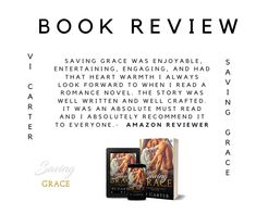 New College, Saving Grace, Saved By Grace, Looking Forward, The Only Way, Romance Novels, Book Review, Entertaining, Writing