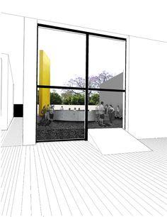 Inauguración del Pabellón Eco 2015 por Taller Capital Architecture Collage, Architecture Graphics, Architecture Drawings, Interior Architecture, Interior Design, Diagram Design, Perspective Drawing, Photocollage, Nice View