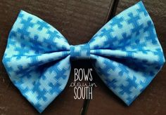 Cute Autism Speaks bow for $6! $2 of ever purchase will go to Autism Speaks. Click picture to order.