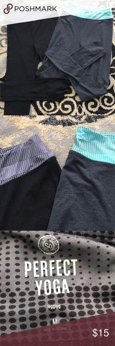 2 Pairs of So yoga leggings 2 pairs of So yoga leggings, NWOT So Pants Leggings