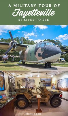 Take a tour of Fort Bragg, explore airplanes at the 82nd Airborne Museum and walk through the North Carolina Veterans Park on a military tour of Fayetteville, N.C.