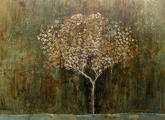 Artist : Rosendo Vega / Title : Árbol del Mundo / Dimensions : 183 x 244 cms / Technique : Oil Paint on Canvas / Year : 2015 / Status : Available / Price : MXN 134,000