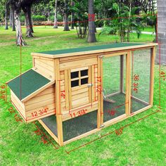 Chicken Nesting Box Dimensions | Details about BackYard Wooden Chicken Coop Nesting Box Hen House Pen ...