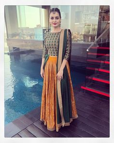 Get the latest trends ruling the charts in India. With the most fashionable range of apparels, accessories, and more, Limeroad will be your favourite of all online shopping sites. Indian Gowns, Indian Attire, Pakistani Dresses, Indian Wear, Indian Sarees, Half Saree Lehenga, Lehnga Dress, Anarkali, Bridal Lehenga