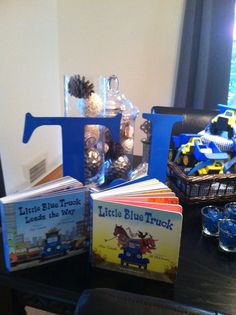 Little blue truck party