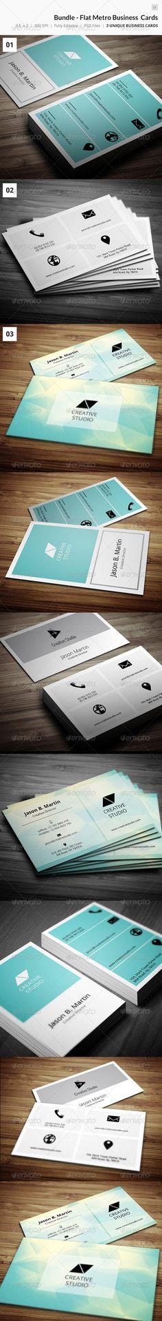 Bundle - Metro Flat Business Card - 31