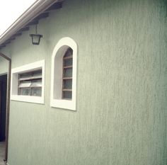 Wall Texture Types, Wall Texture Design, Design Exterior, House Paint Exterior, Aluminium Gates, Tape Wall, Textured Walls, House Painting, French Doors