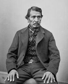 """Caddo tribe  leader Sho-e-tat 1816-1883  Texas was named for the Caddo word for friend, """"tejas""""."""