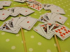 Playing Cards Picks by ChristyMaries83 on Etsy