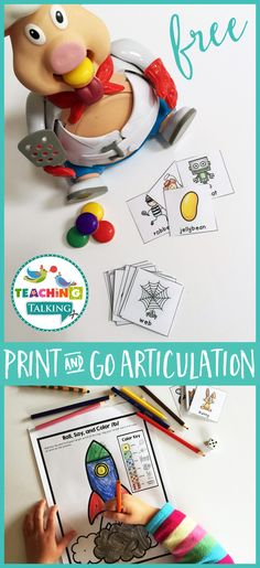 Low-prep articulation activities for kids are ideal for the busy SLP. Try them today with this FREE download!