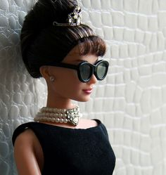 Hepburn Barbie, I want her, HK this makes me think of you!