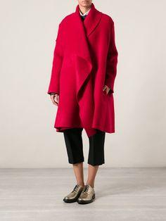 Lanvin Oversized Coat - Donne Concept Store - Farfetch.com