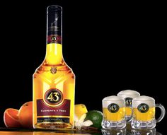 Sometimes after dinner, i drink some glasses of Licor 43. This is my favourite liqueur