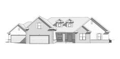 Aurora - Traditional style house plan - Walker Home Design