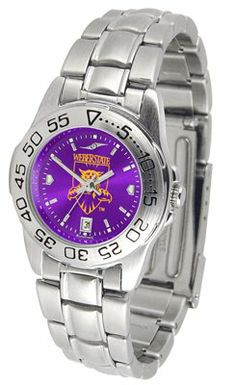 Weber State University Wildcats Sport Steel Band Ano-chrome - Ladies - Women's College Watches by Sports Memorabilia. $59.95. Makes a Great Gift!. Weber State University Wildcats Sport Steel Band Ano-chrome - Ladies