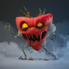 Monster Strawberry by daniel Dulitzky