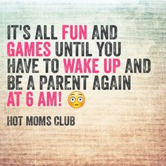 being a parent Hot Moms Club, Parenting Humor, Mom Quotes, Best Mom, Haha, Sayings, Instagram Posts, Funny Stuff, Action