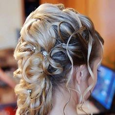 Long Blonde Homecoming Hairstyle - Homecoming Hairstyles 2013