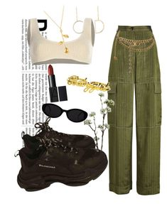 """""""Sass"""" by kenyalendo ❤ liked on Polyvore featuring Sonia Rykiel, Yeezy by Kanye West, Chanel, Wyld Home, CÉLINE, Balenciaga and Christian Dior"""