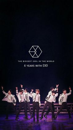 6 years with exo🎉♥ Chanyeol Baekhyun, Exo Kai, 5 Years With Exo, 6 Years, L Wallpaper, Baekhyun Wallpaper, Exo Official, Exo Group, Exo Lockscreen