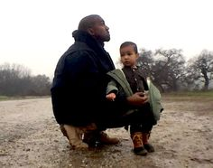 Even though Kanye West may have a bad reputation for being aggressive towards the media but he can also seem caring towards his family. He has a daughter with Kim Kardashian. His daughter features in the music video for his song 'Only One' which was written as a lullaby for her. This may have improved West's star image as a caring family-man.