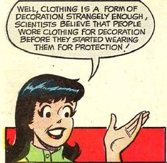 I'm just a woman who was once a little girl who consumed Archie comics in all forms by the ton. I...