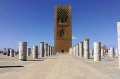 Hassan-Turm in Rabat, Marokko