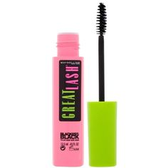 Maybelline Great Lash Mascara ($5.46) ❤ liked on Polyvore featuring beauty products, makeup, eye makeup, mascara, beauty, eyes, blackest black, maybelline eye makeup, black eye makeup and black mascara